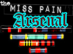 that Pain arsenal in full...