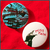 CARRION CALL BADGE SET - £1.50